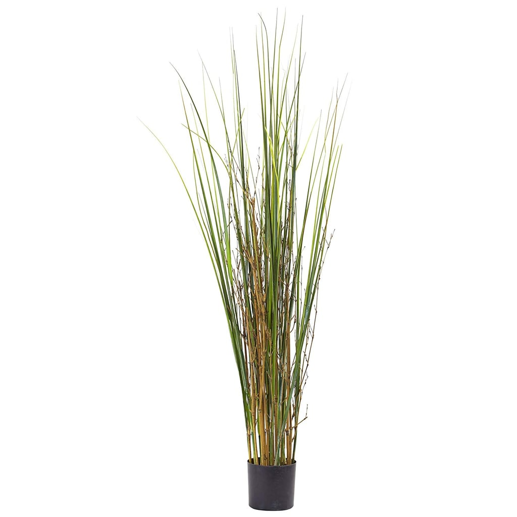 Nearly Natural Grass and Bamboo Plant