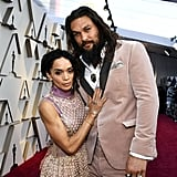 Jason Momoa and Lisa Bonet at the 2019 Oscars
