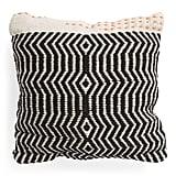 Wool Blend Ticking Stitch Pillow