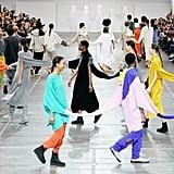 Interconnected Knits From the Issey Miyake Fall 2020 Runway at Paris Fashion Week