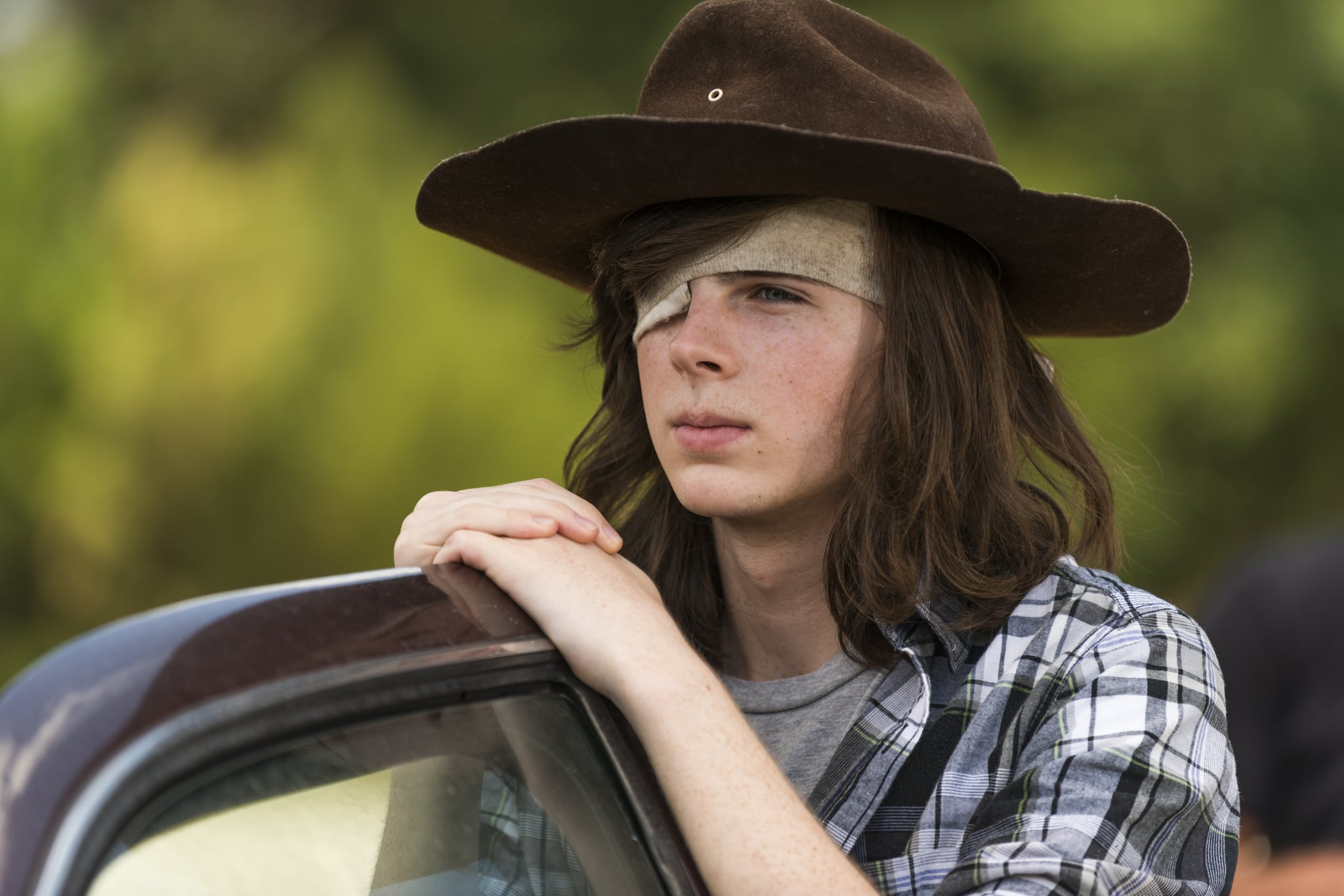 Does Carl Have a Girlfriend on The Walking Dead? | POPSUGAR