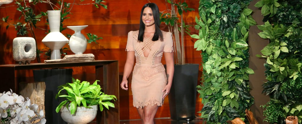 Demi Lovato Talks About New Camp Rock on Ellen DeGeneres