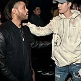 Justin Bieber Having a Moment With The Weeknd