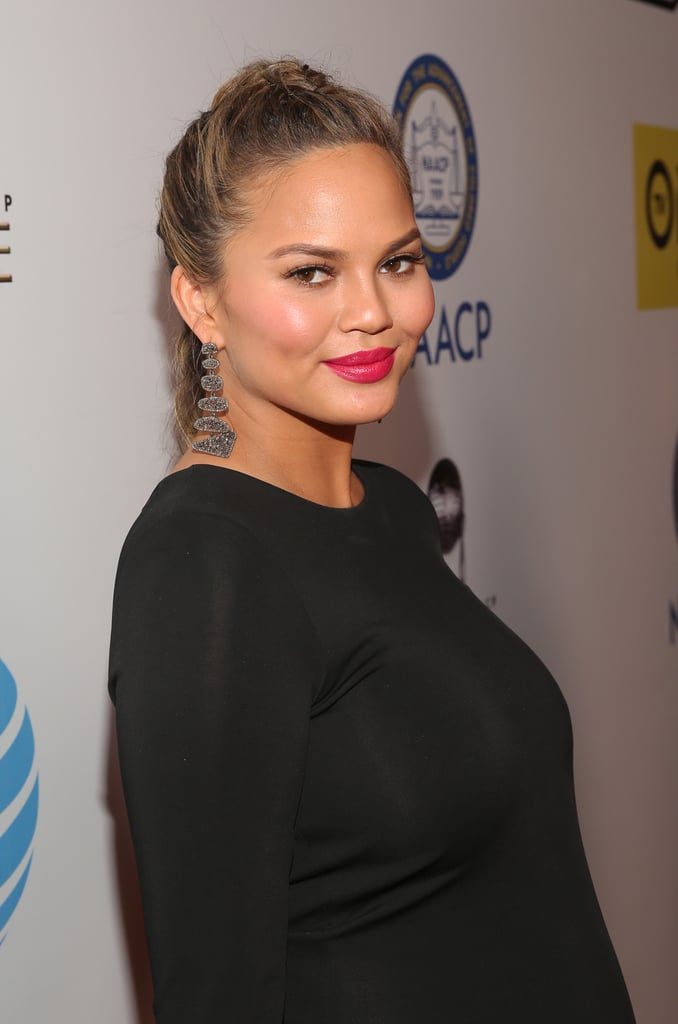 Chrissy Teigen and John Legend Have an Exciting Night Out at the NAACP Image Awards