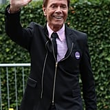 Sir Cliff Richard at Day 9 of Wimbledon