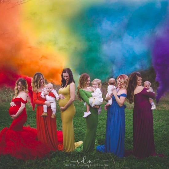 Rainbow Baby Maternity Photos