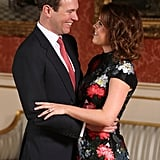Eugenie and Jack's First Kiss