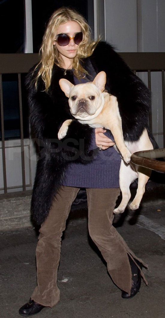 Pictures of Mary-Kate and Ashley Olsen at LAX