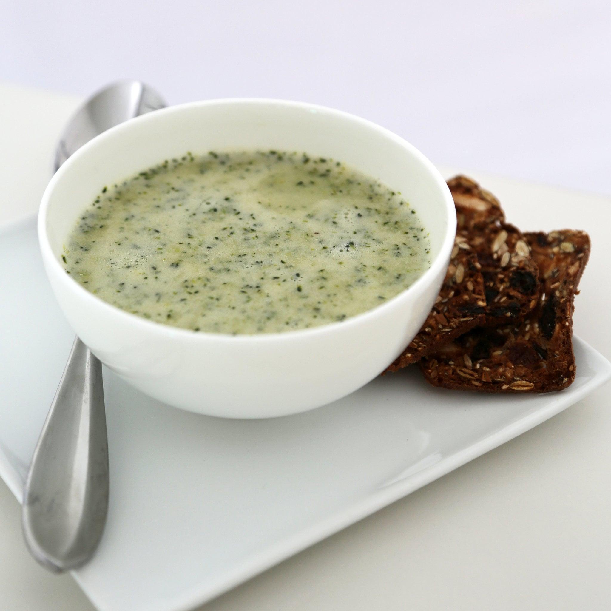 Garlicky Broccoli Soup