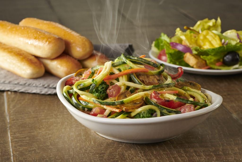 Olive Garden's New Zoodles Primavera