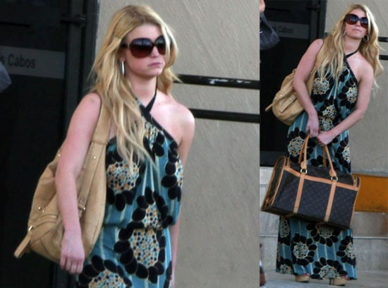 Jessica Simpson and Tony Romo Barely Interact At Ashlee Simpson's Wedding