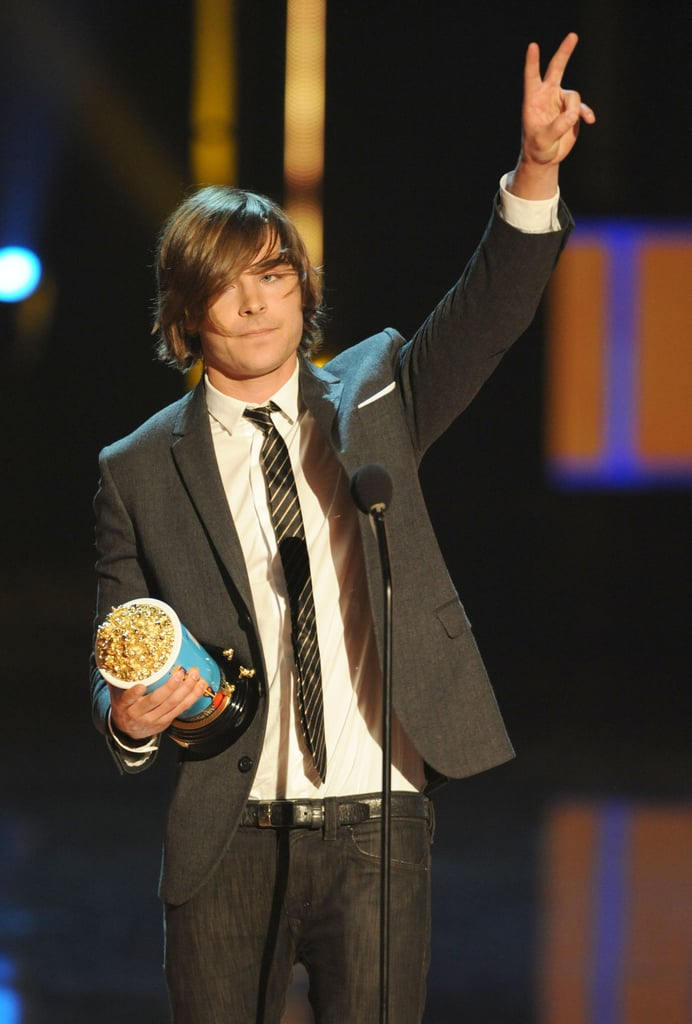 In 2009, he won again, though his long hair had us a little conflicted.