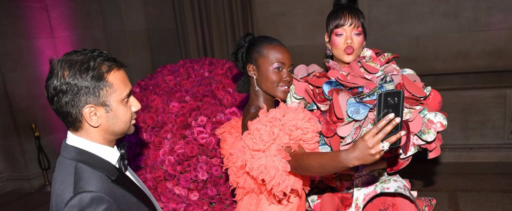 Rihanna and Lupita Snap Selfies at the Met Gala After Their Imaginary Movie Goes Viral