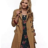 Double-Breasted Trench Coat ($37)