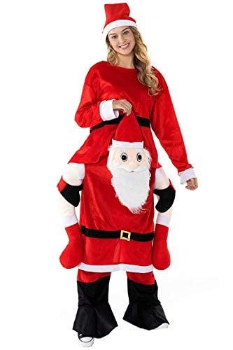 Ride on Me Shoulder Santa