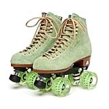 Green Roller Skates