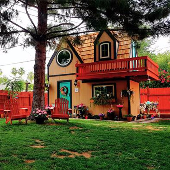 Dad Built Playhouse That's a Mini Version of Their Home