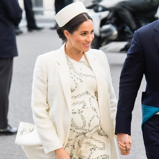 Meghan Markle Green Heels at Commonwealth Service