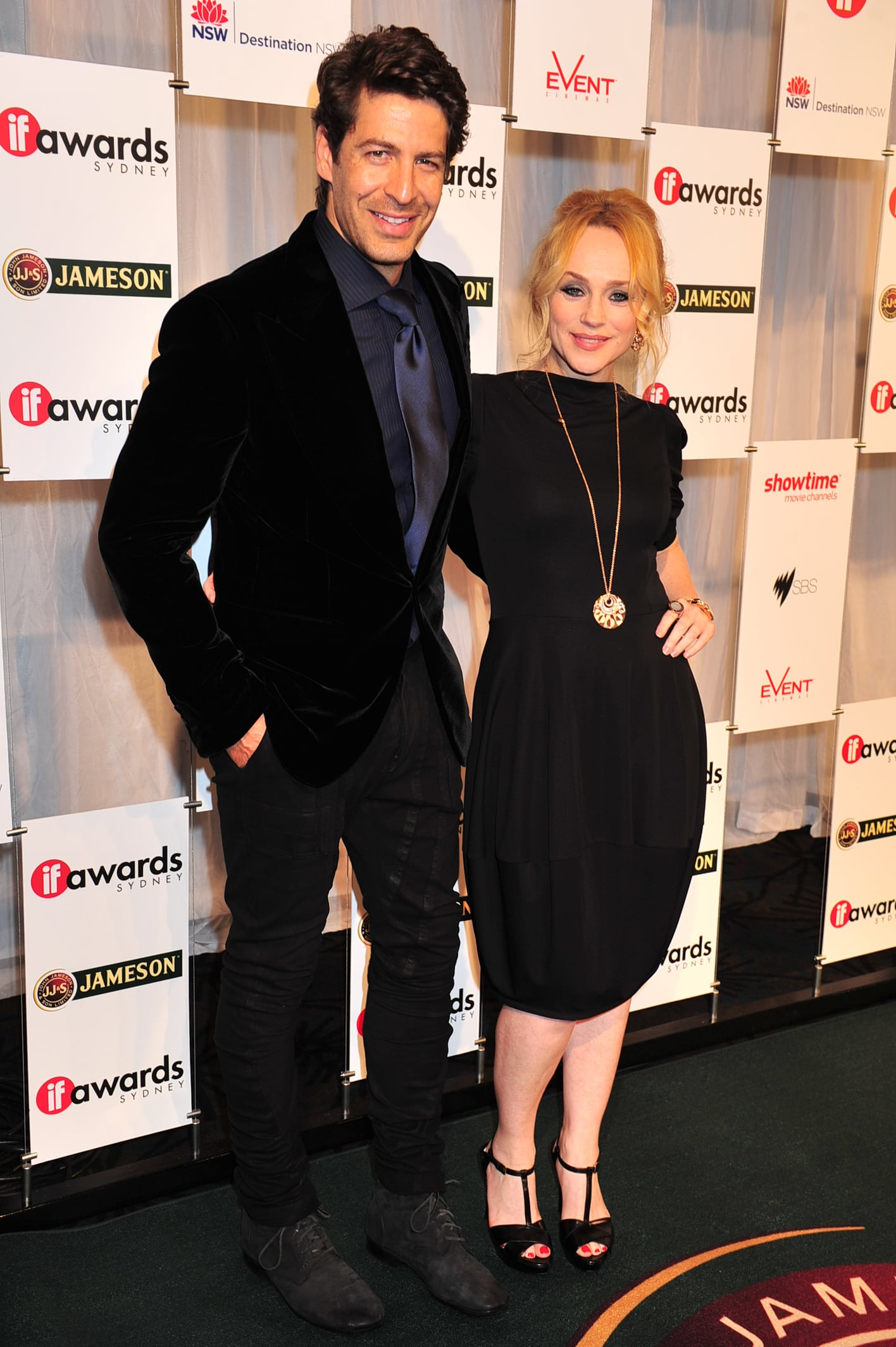Don Hany and Susie Porter