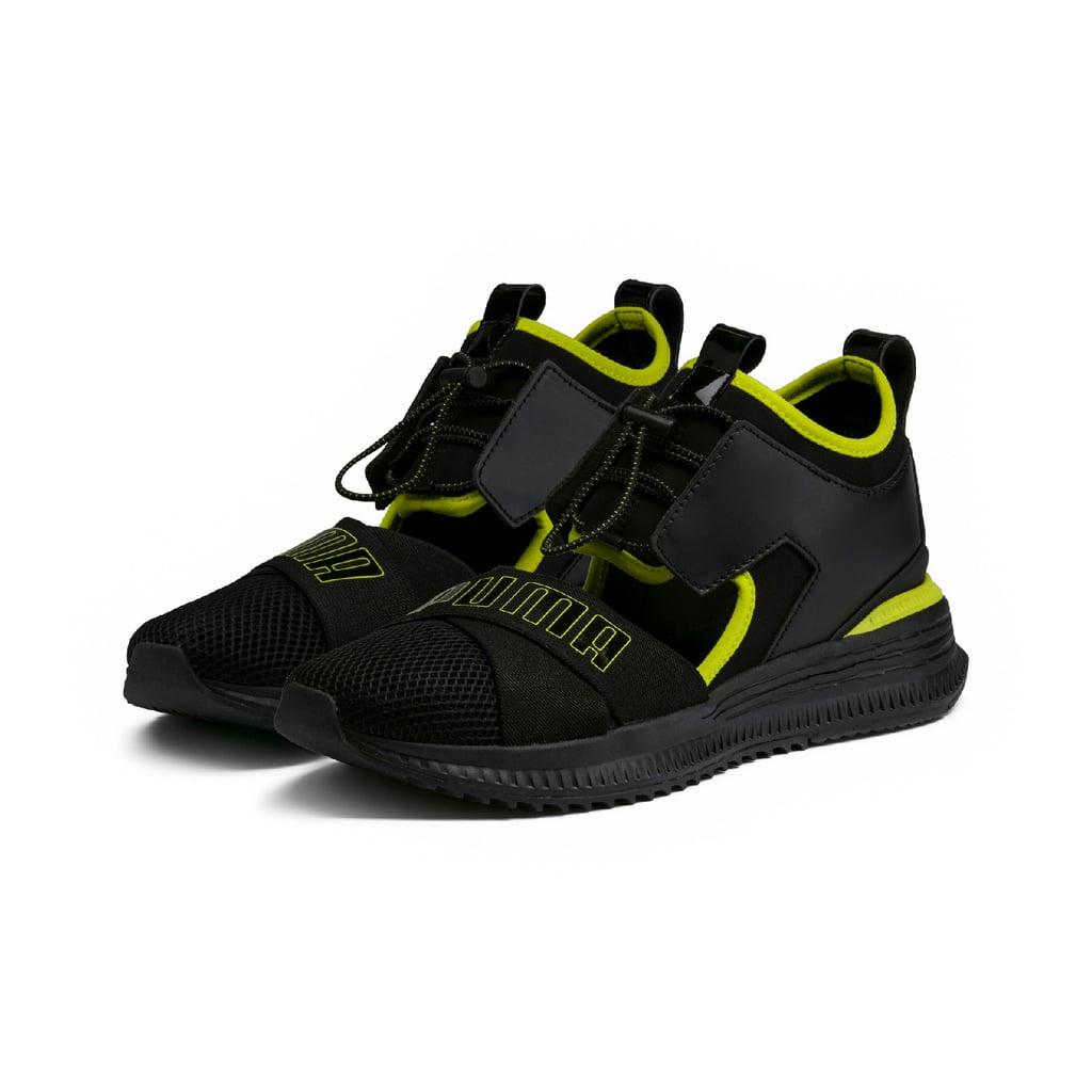 PUMA X FENTY, Black Avid Sneakers, AED775