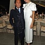 Pictured: Valentino Garavani and Gwyneth Paltrow