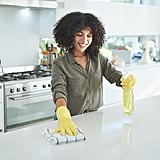 We Use Refillable Cleaning Products.