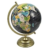 Desktop Globe With Gold Base