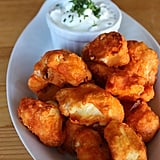 "Crispy Cauliflower Buffalo ""Wings"""