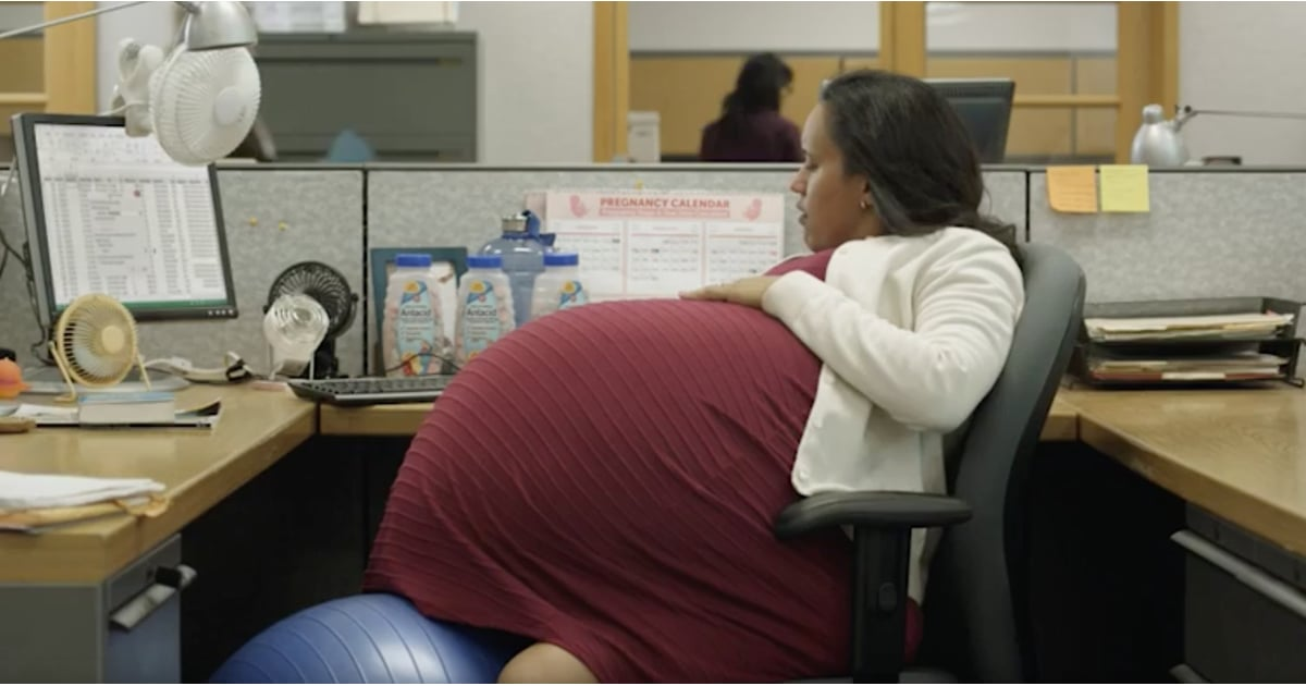 Paid Leave Video With Woman Pregnant For 5 Years