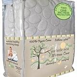 My Little Nest Pebbletex Waterproof Organic Cotton Crib Mattress Pad Covers