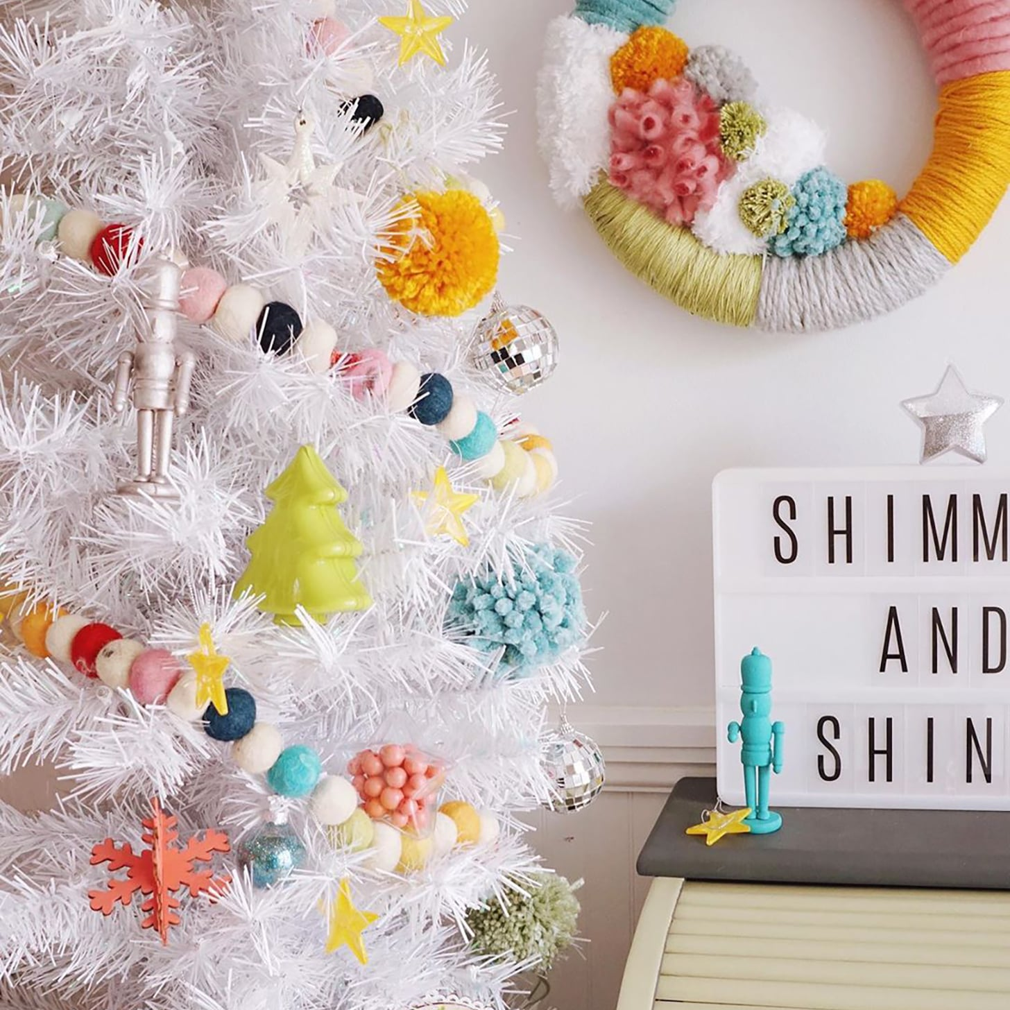 white christmas tree ideas 2019 popsugar home white christmas tree ideas 2019