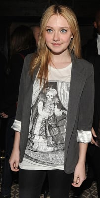 Dakota Fanning at Runaways Afterparty in Studded Pumps