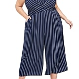 Maggy London Angie Rope Stripe Crop Jumpsuit