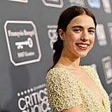 مارغريت كوالي في حفل توزيع جوائز اختيار النقاد لعام 2020
