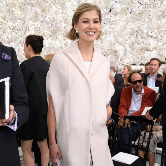 Fashion Red Carpet and Front Row Pictures of Rosamund Pike