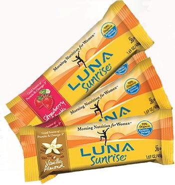 Food Review: Luna Sunrise Bars