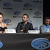 Pictured: Tasya Teles, Sachin Sahel, and Jarod Joseph.