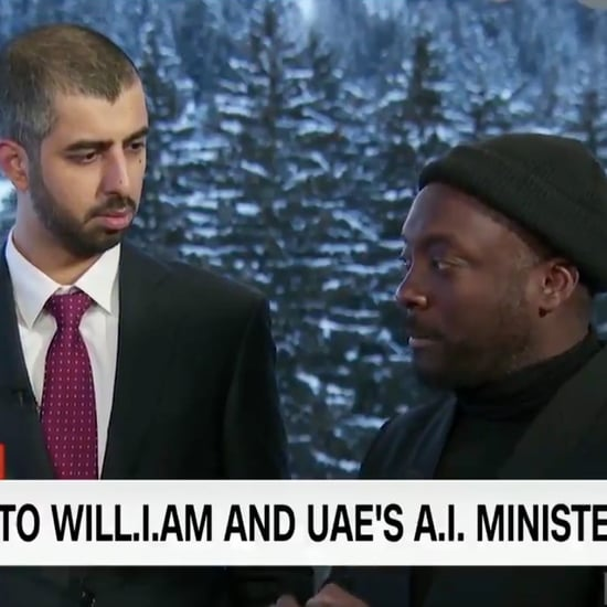 UAE Artificial Intelligence Minister and Will.i.am on CNN