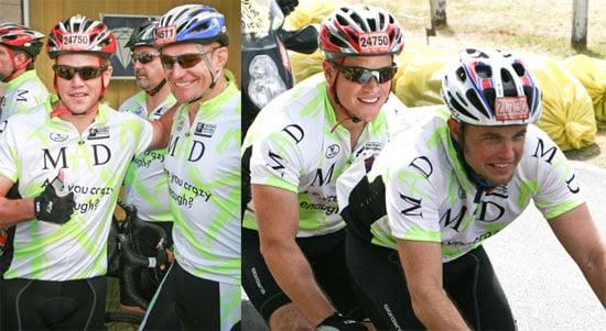 Matt Damon Cycling in South Africa