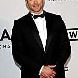 Kellan Lutz looked sharp at the event.