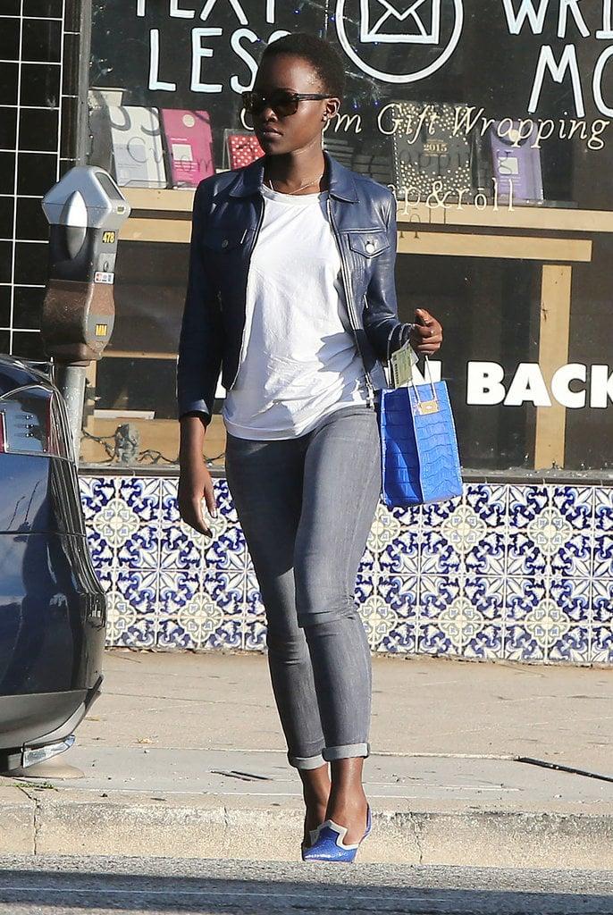 Lupita Took Lazy-Day Fashion to the Next Level | Lupita ...