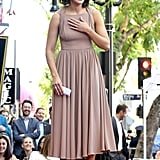 Mandy Moore at Hollywood Walk of Fame Ceremony 2019
