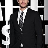 Taylor Kitsch posed at the Battleship premiere in Sydney.
