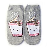 Instant Noodles Graphic Ankle Socks