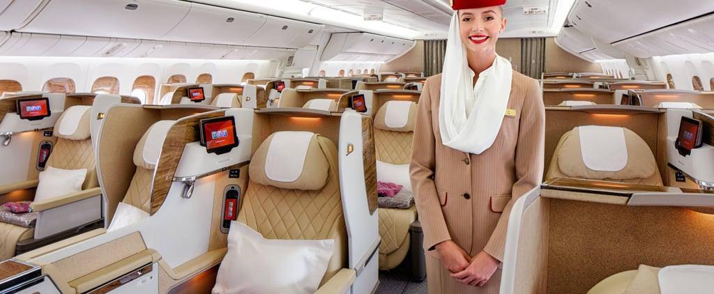 مقصورة رجال الأعمال البوينغ 777 على طيران الإمارات