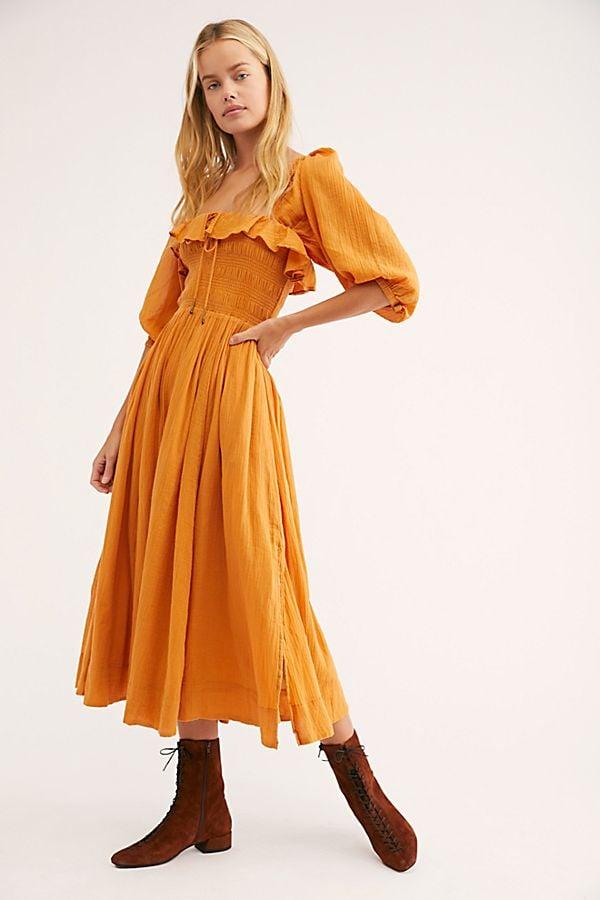341a67caddab Free People Oasis Midi Dress | Best Gifts by Zodiac Sign | POPSUGAR ...