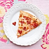 valentines day pizza lunch