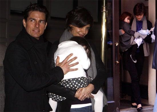 Photos of Katie Holmes, Suri Cruise, Tom Cruise in NYC