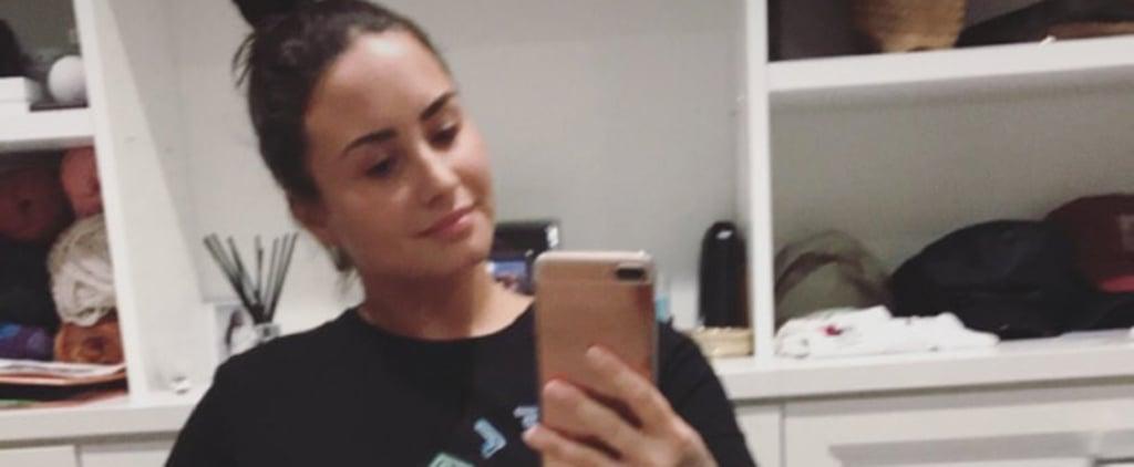 Demi Lovato Stretch Marks and Cellulite Video April 2018