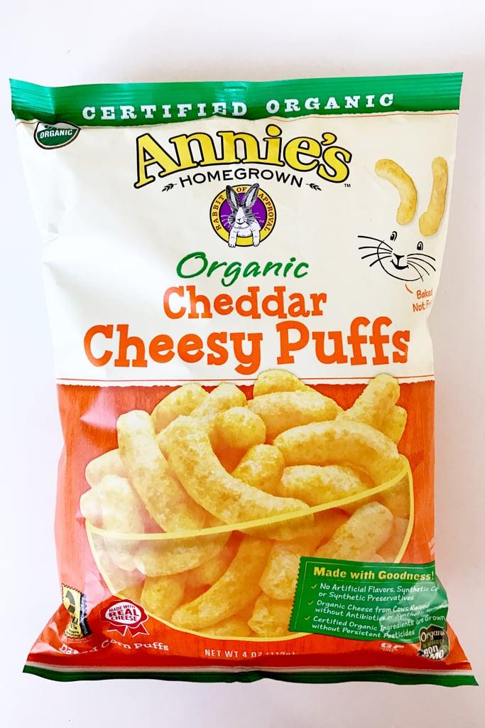 Annie's Organic Cheddar Cheesy Puffs